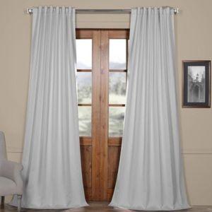 ⭐️NEW⭐️Arctic Grey Rod Pocket Blackout Curtain